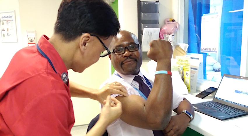 Flu Jabs - Click to read the November 2019 edition